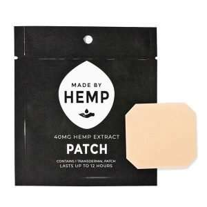 Hemp CBD Patches, 40mg CBD
