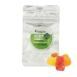 Tasty Hemp CBD Gummies (4ct / 25mg Ea)