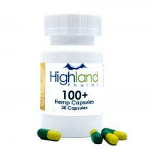 Hemp 100mg CBD Vegan Capsules