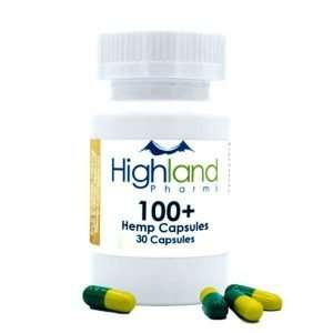 Hemp 100mg CBD Vegan Capsules