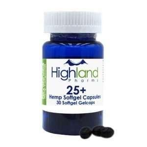 25+ Hemp Softgel Capsules 25mg