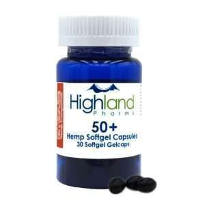 50+ Hemp Softgel Capsules 50mg
