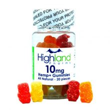 All-Natural Gummies – 20ct And 10mg Of CBD