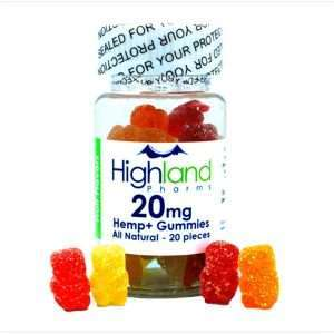 All-Natural Gummies – 20ct And 20mg Of CBD