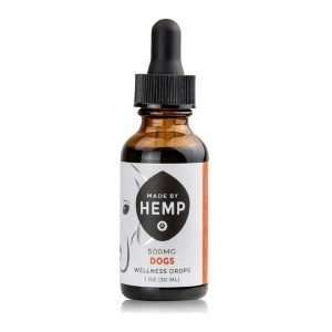 Wellness Drops – Dog Tincture, 1 Oz 200mg Or 500mg CBD