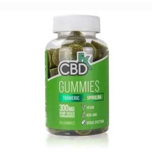 Gummy Bears With Turmeric & Spirulina 60 Count