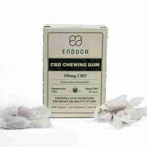 Hemp Gum 10 Pack, 150mg Organic CBD