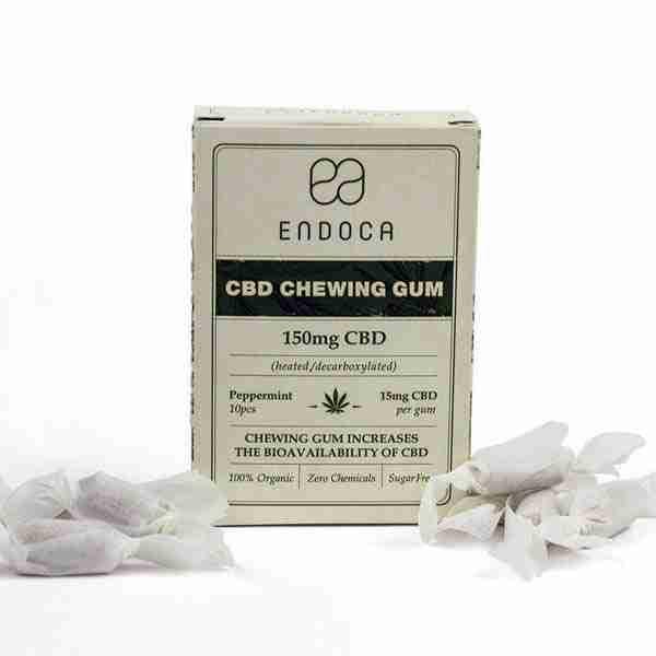 groovyhempcompany.com provides Endoca Hemp Gum 10 Pack 150mg Organic CBD.
