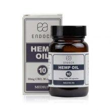Hemp Oil Capsules, 30 Pack, 10mg Organic CBD