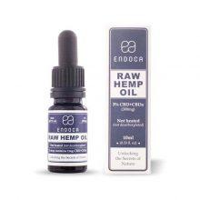 Raw Hemp Oil 3%, 10ml, 300mg Organic CBD
