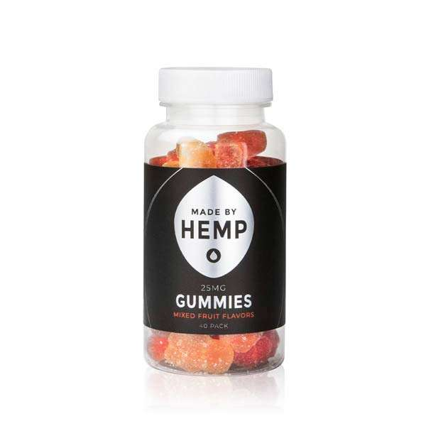 groovyhempcompany.com provides Made By Hemp Gummies 25mg Organic CBD.