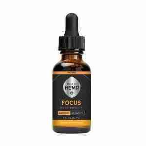 THC-Free CBD Oil – Focus (500mg-2000mg CBD)