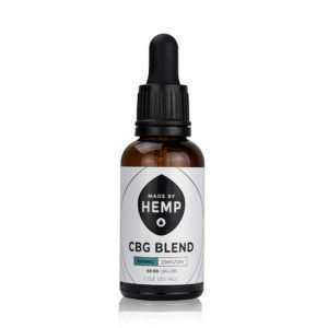 CBG/CBD Oil Blend 1oz (1,000mg CBD/CBG) – Natural