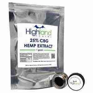 25% CBG Hemp Extract