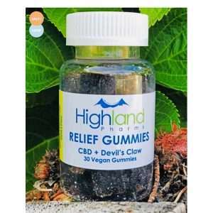 Relief CBD Gummies With Devil's Claw For Pain – 25mg CBD Per Piece