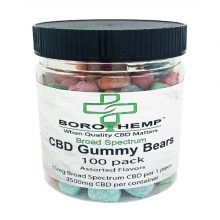 Gummy Bears, 35mb CBD, 16oz Jar