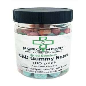 Gummy Bears, 35mg CBD, 16oz Jar