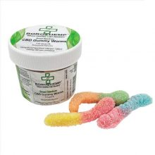 Gummy Worms, 35mb CBD, 16oz Jar