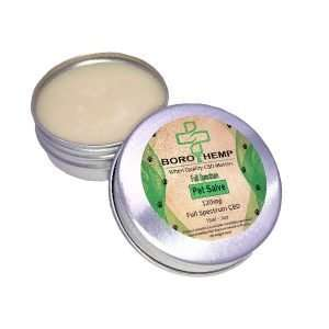 CBD Pet Salve. Full Spectrum