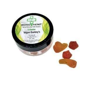 Vegan Gummy's, 25mg CBD, 2oz Jar
