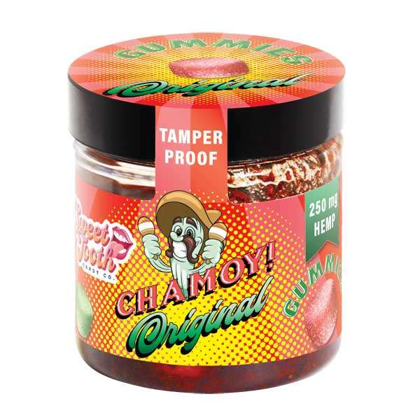 groovyhempcompany.com provides Exclusive Hemp Farms Chamoy CBD Gummies, 25mg CBD.