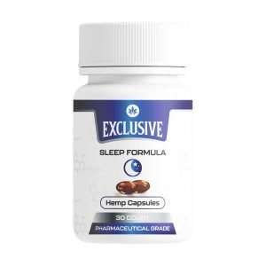 Exclusive Gel Capsules – Sleep Formula, 33mg CBN