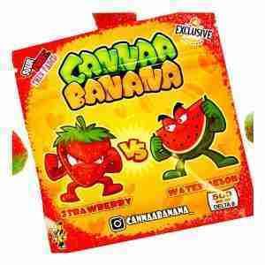 Cannaa Banana Strawberry Vs Watermelon Delta 8 Candies