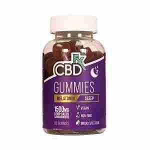 Melatonin CBD Gummies 25mg 60 Count